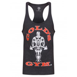 Golds Gym Premium Stringer Anthrazit