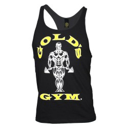Golds Gym Premium Stringer Schwarz