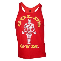 Golds Gym Premium Stringer Rot