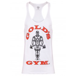 Golds Gym Premium Stringer Weiss