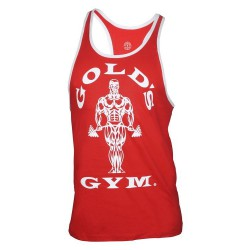 Golds Gym Contrast Stringer Rot