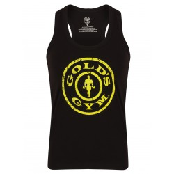 Golds Gym Ladies Fitted Tank Top Schwarz