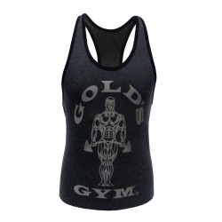 Golds Gym Ladies Stringer Anthrazit