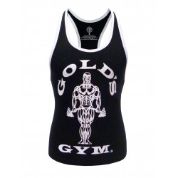 Golds Gym Ladies Stringer Schwarz