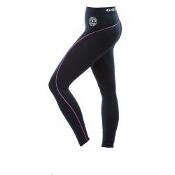 Golds Gym Ladies Leggins Schwarz-Pink