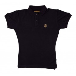 Revolution of Fitness Polo Schwarz