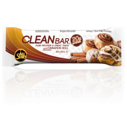 All Stars Clean Bar Cinnamon Roll 18 x 60g