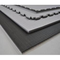 Kampfsportmatte Schwarz-Grau 100 x 100 x 2cm