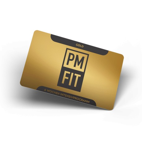 6 Wochen Personaltraining Gold Package