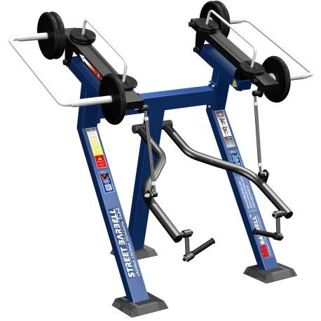 STREETBARBELL Standing Biceps Curl 7.39