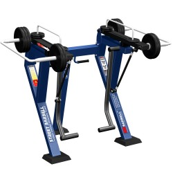 STREETBARBELL Standing Glutes Machine 7.45