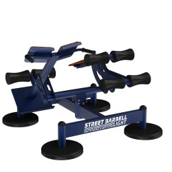STREETBARBELL Ab Bench & Hyperextansion 7.62