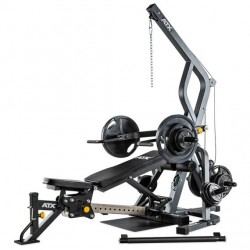 ATX Triplex Workout Station + 125kg Guss Scheiben Set