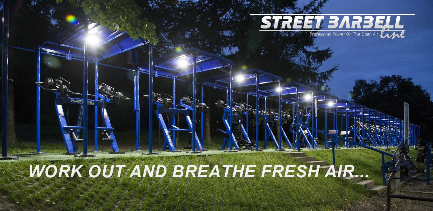 STREETBARBELL outdoor Gym Equipment